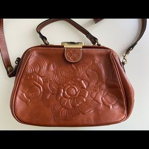 Patricia Nash Tooled Rose Gracchi Florence Handbag